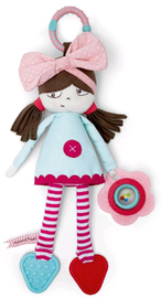 Mamas & Papas: Soft Toy - Polly Rag Doll Pink