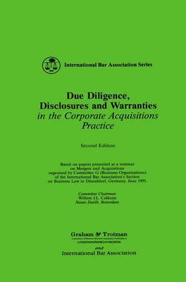 Due Diligence, Disclosures and Warranties by D. Baker