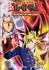 Yu-Gi-Oh! - Volume 1 - The Heart of the Cards on DVD