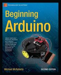 Beginning Arduino by Michael McRoberts