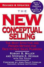 New Conceptual Selling by R Miller image