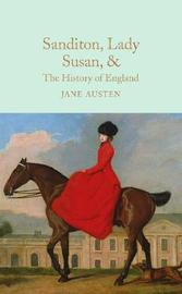 Sanditon, Lady Susan, & The History of England by Jane Austen image
