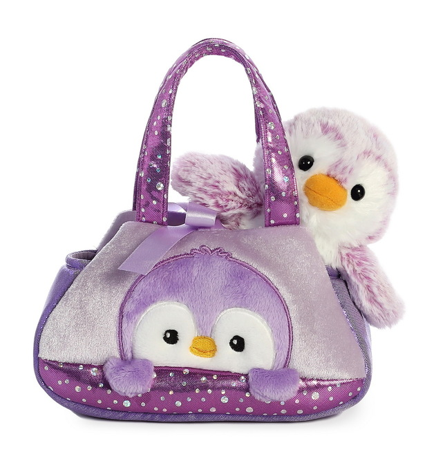 Aurora: Fancy Pal Pet Carrier – Purple Penguin