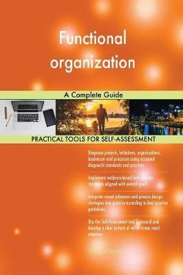 Functional Organization a Complete Guide by Gerardus Blokdyk image