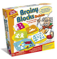 Small World Toys: Brainy Blocks Deluxe - Logic Game