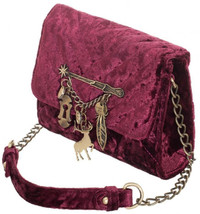 Harry Potter Spells Quilted Sidekick Crossbody Bag