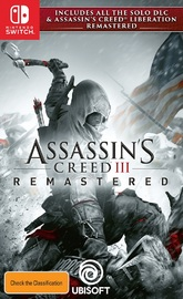 Assassin's Creed III Remastered for Switch