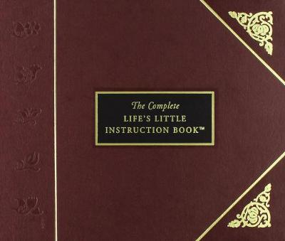 Complete Lifes Little Instruction Bk Leather Bound by H.Jackson Brown