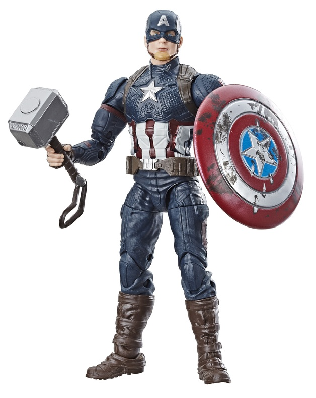 "Marvel Legends: Worthy Captain America - 6"" Action Figure"