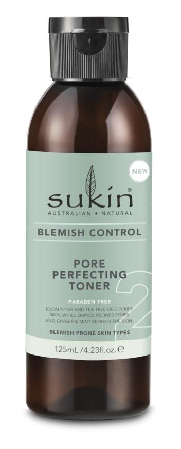 Sukin Blemish Control - Pore Perfecting Toner (125ml) image