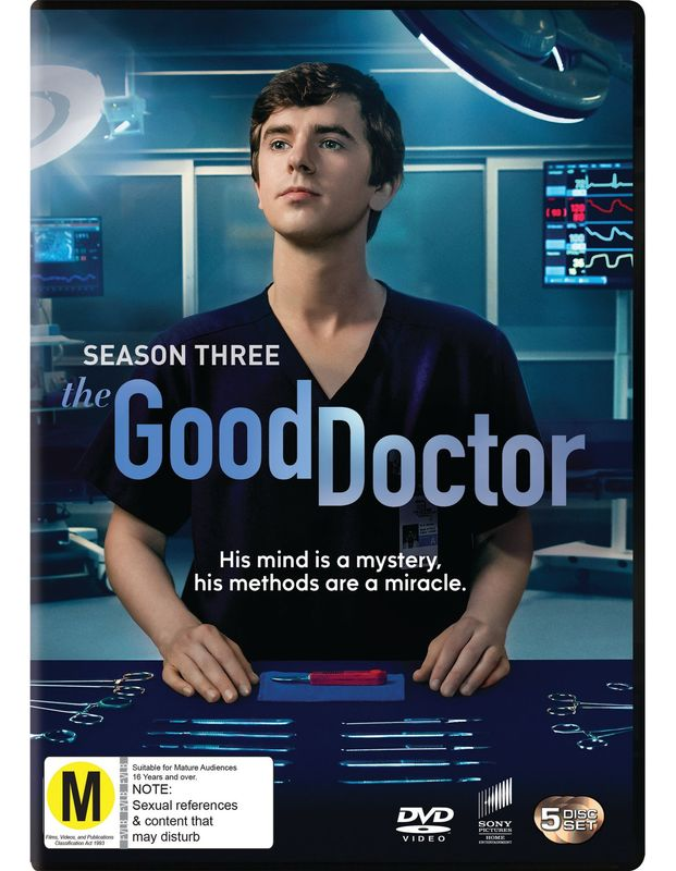 The Good Doctor - The Complete Third Season on DVD