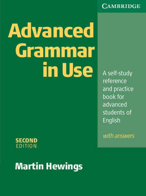 Advanced Grammar in Use with Answers by Martin Hewings image