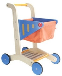 Hape: Wooden Shopping Cart