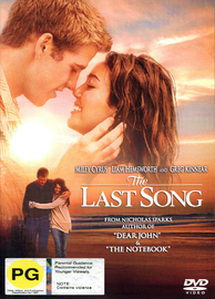 The Last Song on DVD