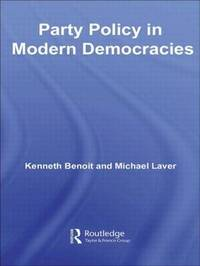Party Policy in Modern Democracies by Kenneth Benoit image