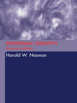 Personal Identity by Harold W Noonan image