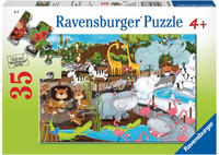 Ravensburger - Day At The Zoo Puzzle (35pc)