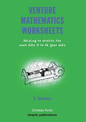 Venture Mathematics Worksheets: Bk. G by Christian Puritz