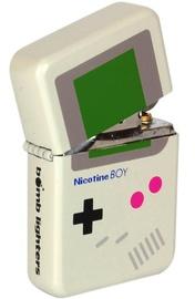 Nicotine Boy Windproof Lighter - Matte Grey