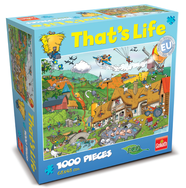 That's Life 1,000 Piece Jigsaw (Farm)