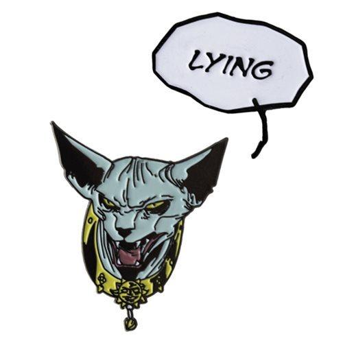 SAGA Lying Cat Pin
