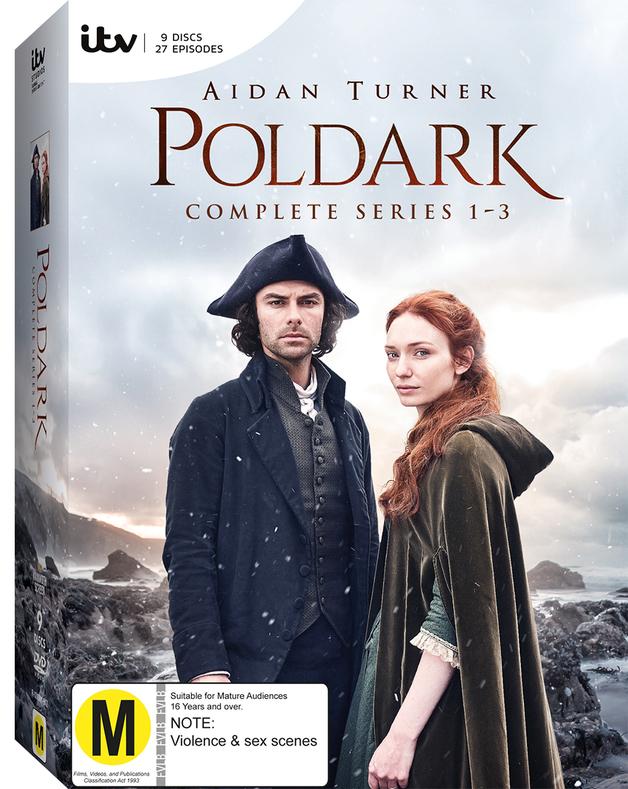 Poldark: Season 1-3 Boxset on DVD