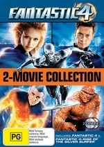Fantastic 4 - 2-Movie Collection (Fantastic 4 / Rise Of The Silver Surfer) (2 Disc Set) on DVD