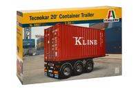 Italeri: 1:24 Tecnokar 20' Container Trailer Model Kit