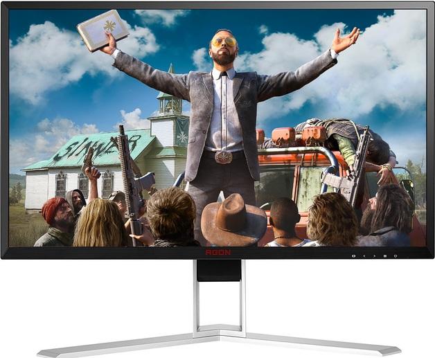"27"" AOC Agon UHD 60hz 4ms G-Sync Gaming Monitor"