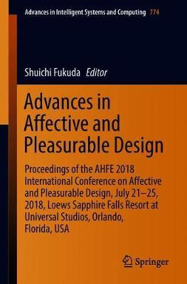Advances in Affective and Pleasurable Design image