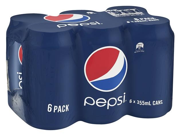 Pepsi Cans 355ml 24pk