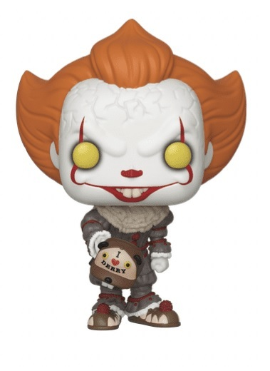 IT: Chapter 2 - Pennywise (with Beaver Hat) Pop! Vinyl Figure image