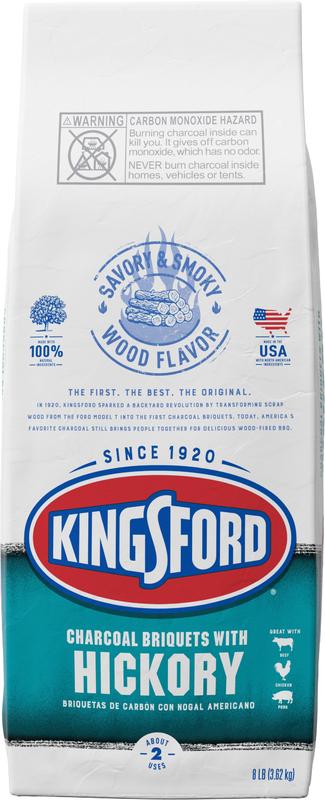 Kingsford *Hickory* Charcoal Briquettes (3.62KG)