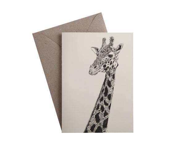 Marini Ferlazzo: Greeting Card - African Giraffe