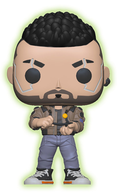 Cyberpunk 2077: V-Male (Glow) - Pop! Vinyl Figure