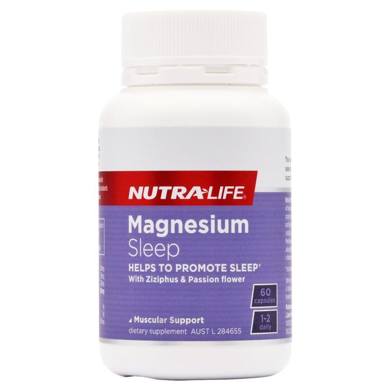 Nutra Life: Magnesium Sleep+ (60 Caps) image