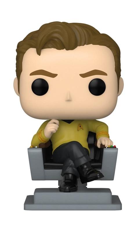 Star Trek: The Original Series - Captain Kirk in Chair Pop! Vinyl Figure