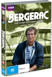 Bergerac - The Complete Third Series on DVD