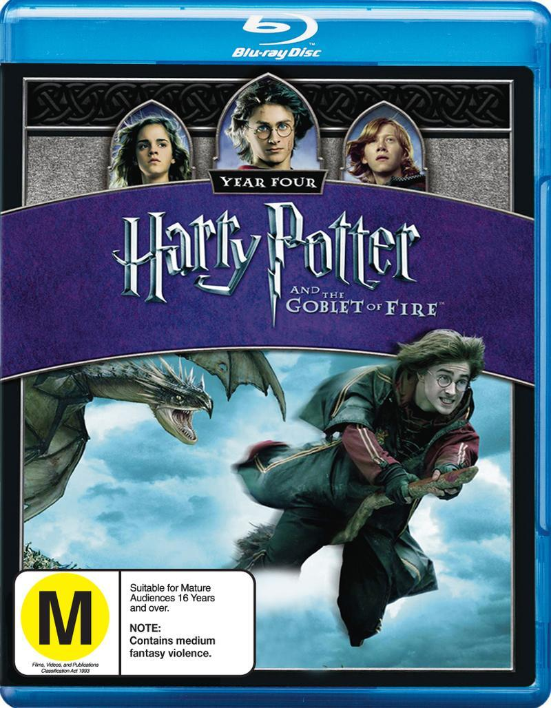 Harry Potter And The Goblet Of Fire on Blu-ray image