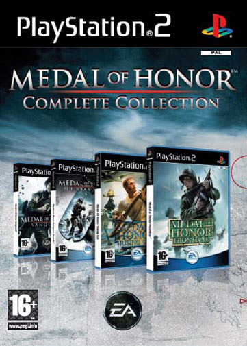 Medal Of Honor Quad Pack Collection for PlayStation 2