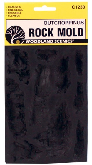 Woodland Scenics Outcroppings Mould image