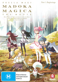 Puella Magi Madoka Magica the Movie: Part 1 Beginnings on DVD