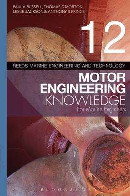Reeds Vol 12 Motor Engineering Knowledge for Marine Engineers by Paul Anthony Russell image