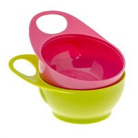 Brother Max - Easy-Hold Bowls - Pink/Green
