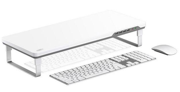 Deepcool M-Desk F1 Ergonomic Monitor Stand - Grey