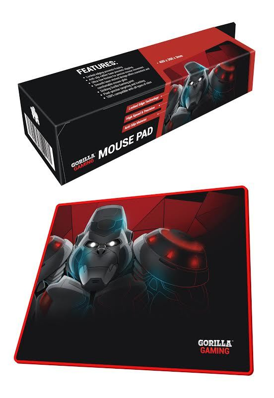 Gorilla Gaming Mouse Pad for PC Games image