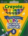 Crayola: 8 Washable Large Crayons - Crayola