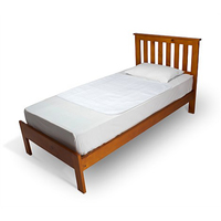 Brolly Sheets Bed Pad Without Wings - White image
