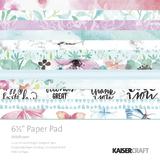 "Kaisercraft 6.5"" Paper Pad (Wildflower)"