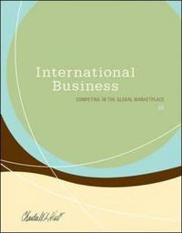 International Business by Charles W.L. Hill image